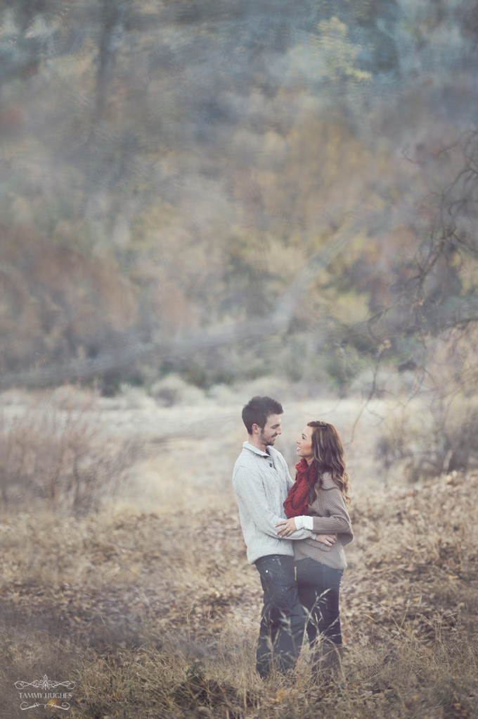 Winter Engagement Portrait